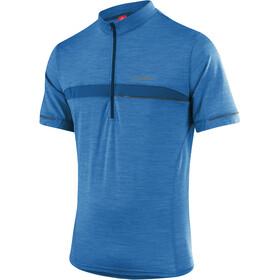 Löffler Merino Bike Jersey Shortsleeve Men blue